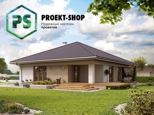 Типовой проект жилого дома 4-233