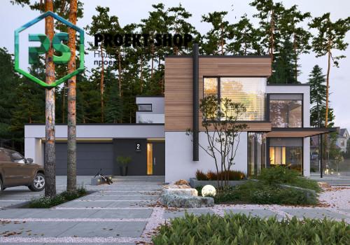 Типовой проект жилого дома 4-2333
