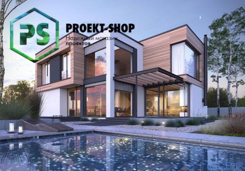 Типовой проект жилого дома 4-2334