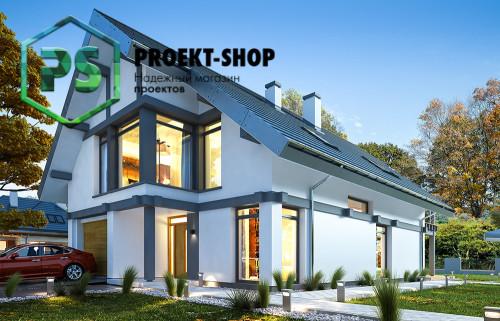 Типовой проект жилого дома 4-2336