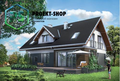 Типовой проект жилого дома 4-2360