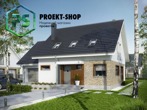 Типовой проект жилого дома 4-2361