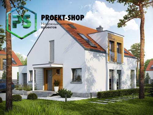 Типовой проект жилого дома 4-2362