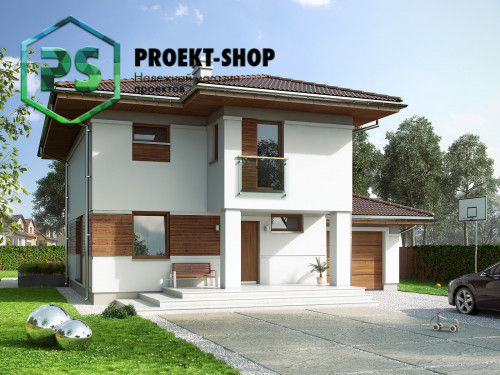 Типовой проект жилого дома 4-2378