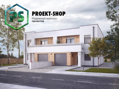 Типовой проект жилого дома 4-2386