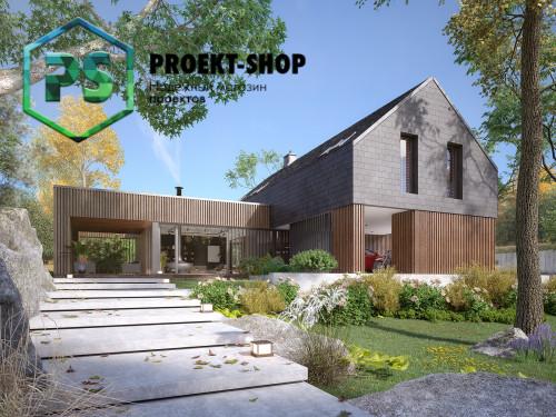 Типовой проект жилого дома 4-2388