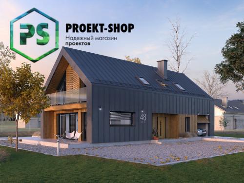 Типовой проект жилого дома 4-2397