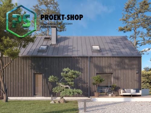 Типовой проект жилого дома 4-2398