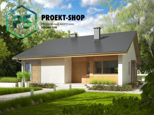 Типовой проект жилого дома 4-2456