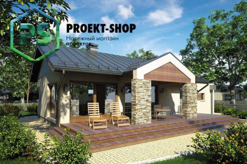 Типовой проект жилого дома 4-2474