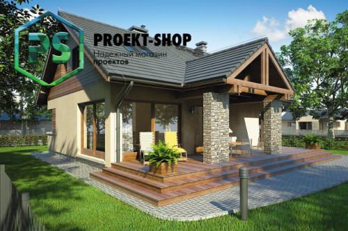 Типовой проект жилого дома 4-2478