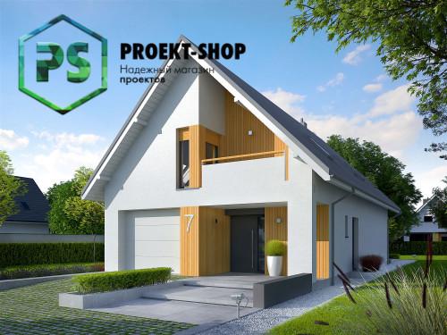 Типовой проект жилого дома 4-2483