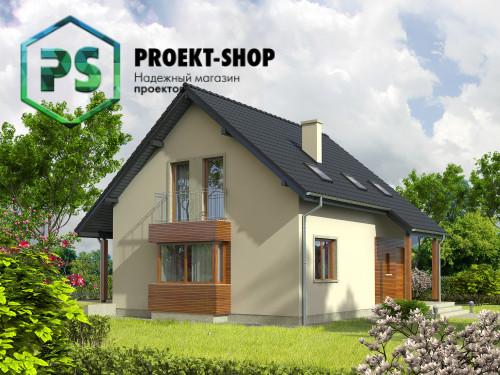 Типовой проект жилого дома 4-2489