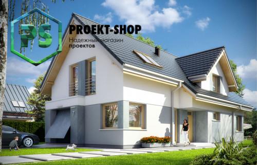 Типовой проект жилого дома 4-2524