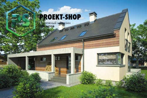 Типовой проект жилого дома 4-2544