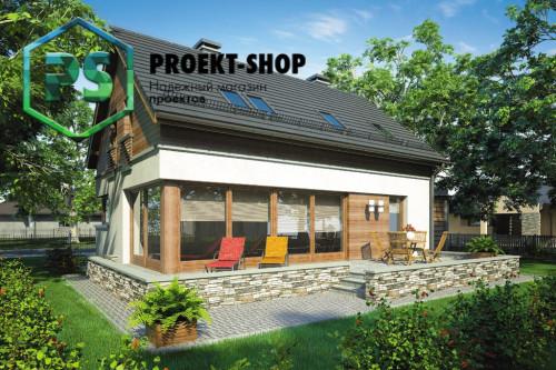 Типовой проект жилого дома 4-2550