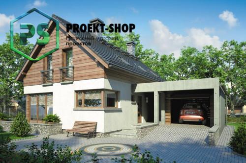 Типовой проект жилого дома 4-2552