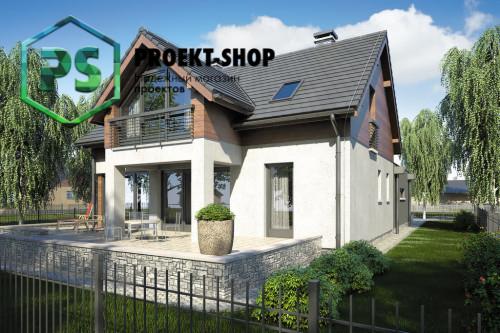 Типовой проект жилого дома 4-2553