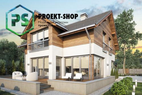 Типовой проект жилого дома 4-2555