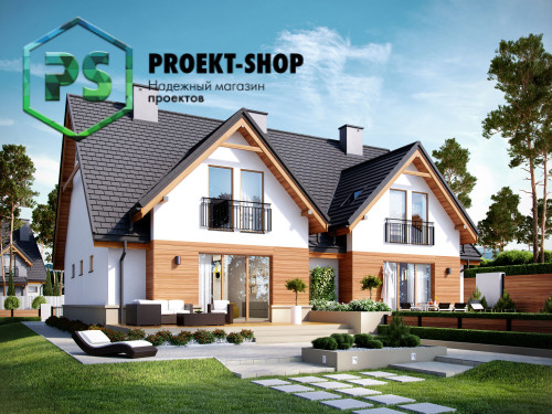 Типовой проект жилого дома 4-2561