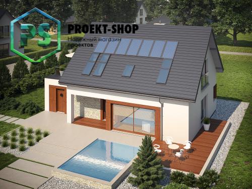 Типовой проект жилого дома 4-2568