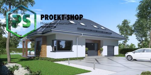 Типовой проект жилого дома 4-2587