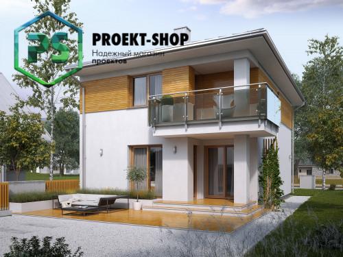 Типовой проект жилого дома 4-2597