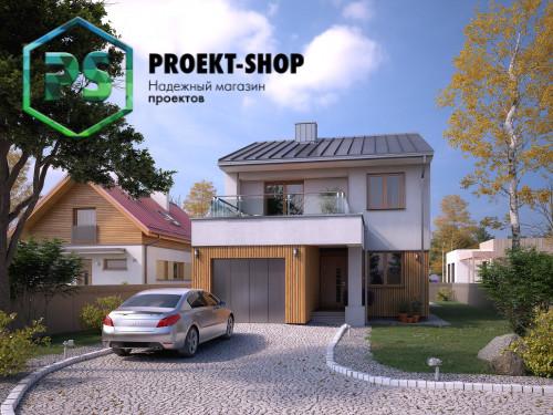 Типовой проект жилого дома 4-2598