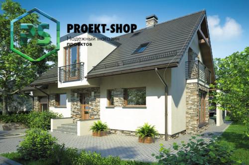 Типовой проект жилого дома 4-261