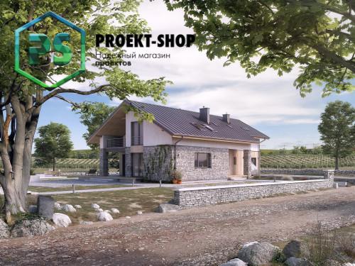 Типовой проект жилого дома 4-2623