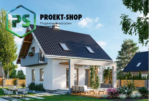 Типовой проект жилого дома 4-2627