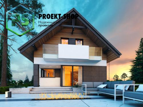 Типовой проект жилого дома 4-2662