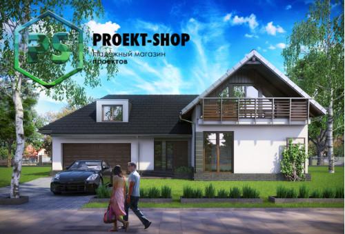 Типовой проект жилого дома 4-2671