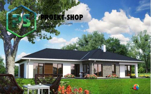 Типовой проект жилого дома 4-2672