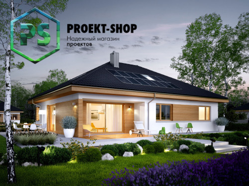 Типовой проект жилого дома 4-268