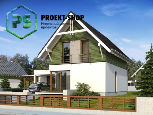 Типовой проект жилого дома 4-2693