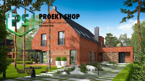 Типовой проект жилого дома 4-2698