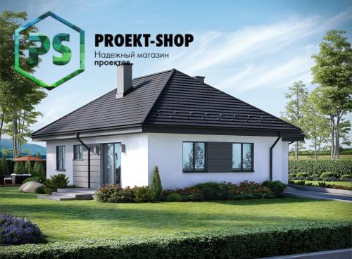 Типовой проект жилого дома 4-2705