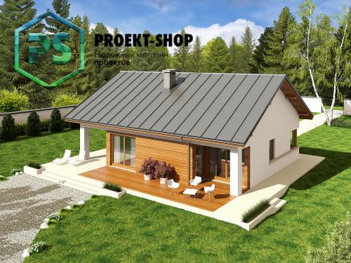 Типовой проект жилого дома 4-2761