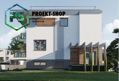 Типовой проект жилого дома 4-2772
