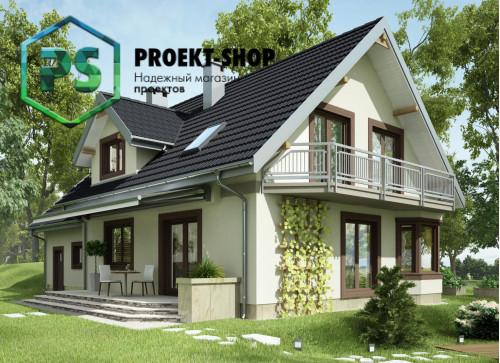 Типовой проект жилого дома 4-2777