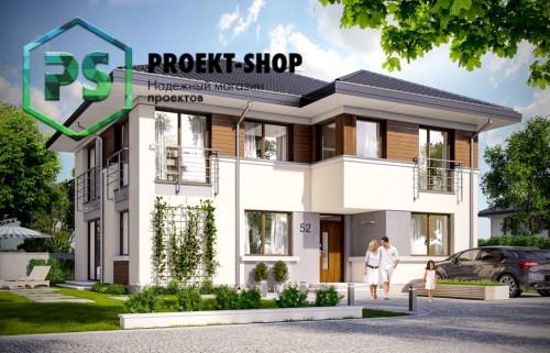 Типовой проект жилого дома 4-2787
