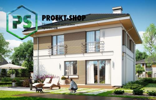Типовой проект жилого дома 4-2790