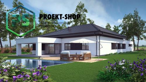 Типовой проект жилого дома 4-2813