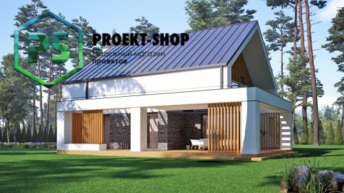 Типовой проект жилого дома 4-2821