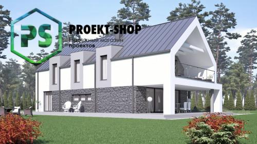 Типовой проект жилого дома 4-2822