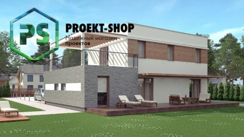 Типовой проект жилого дома 4-2823