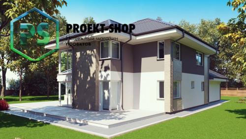 Типовой проект жилого дома 4-2825
