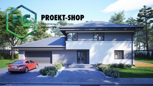 Типовой проект жилого дома 4-2827