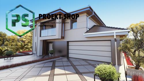 Типовой проект жилого дома 4-2828